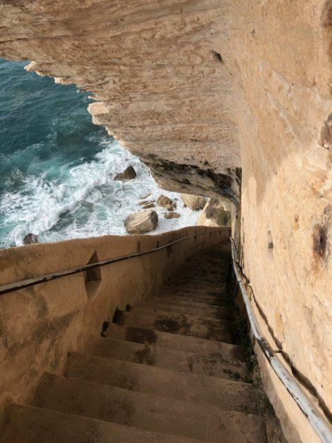 Die Treppen von Aragon, Bonifacio