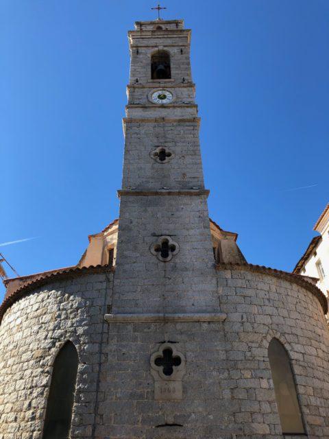 Die Kirche von Porto-Vecchio