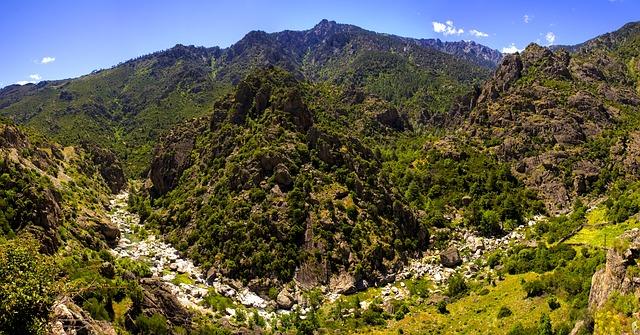 Der Naturpark Korsika