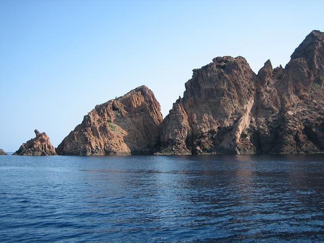 Korsika Sehenswürdigkeit La Scandola
