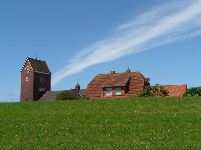 Die Inselkirche von Baltrum