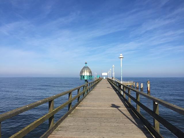 Die Seebrücke von Zinnowitz