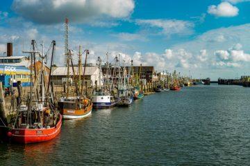 Cuxhaven an der Nordsee und Elbe
