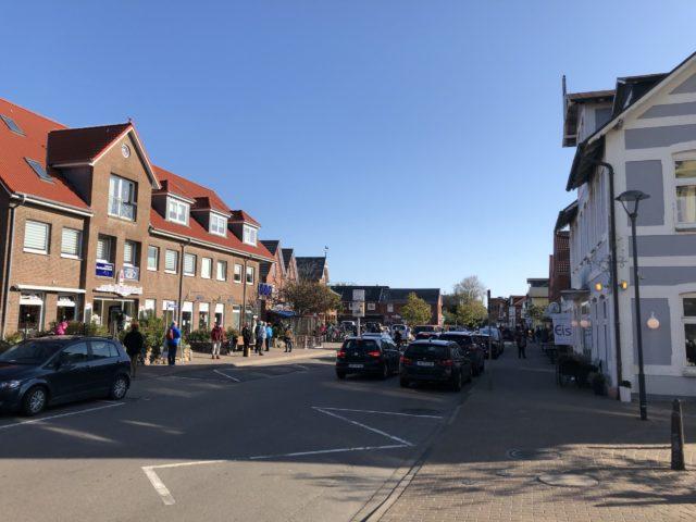 Ankunft auf Amrum in Wittdün