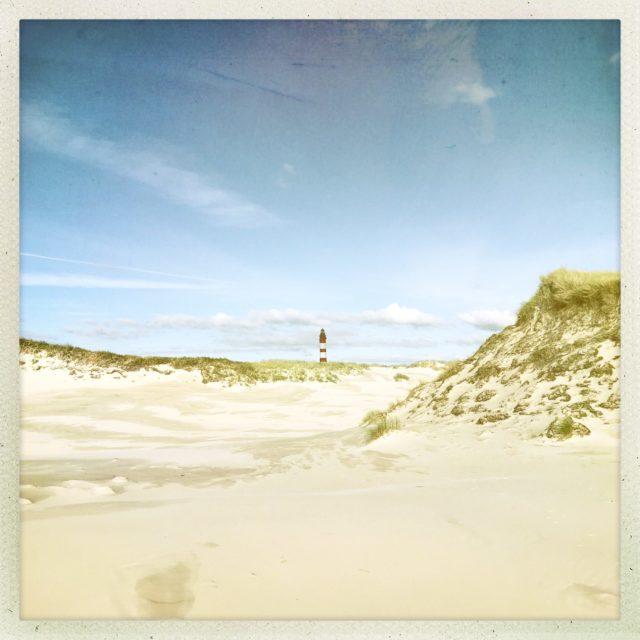 Strand mit Knipsand auf Amrum